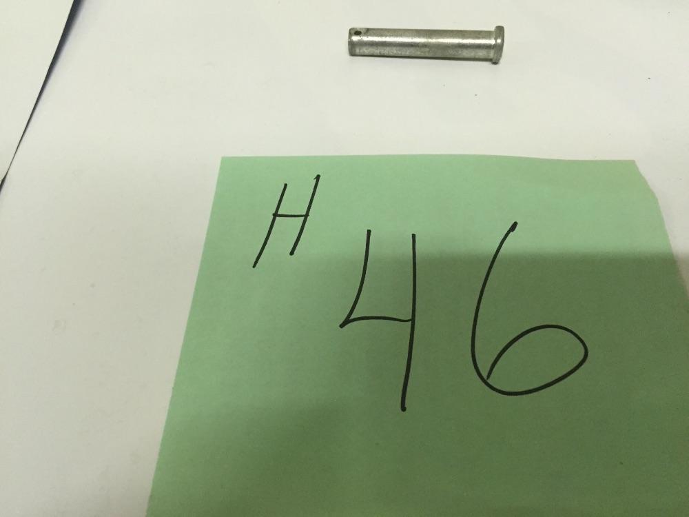Headlight rear link pin