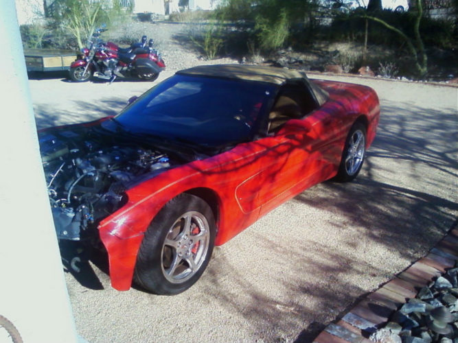C5 Doors Red Complete For Sale Corvette Parts For Sale
