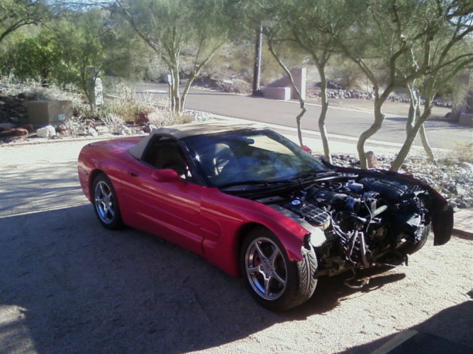 C5 1998 2004 Red Convertible For Sale Corvette Parts For