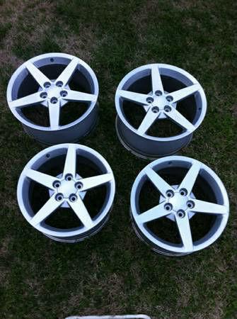 2006 Corvette Factory Aluminum Wheels For Sale Corvette