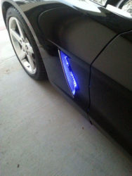 C6 Corvette Side cove LED Plug and Play