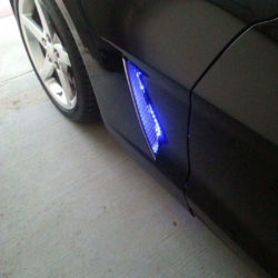 C6 Corvette Side cove LED Plug and Play