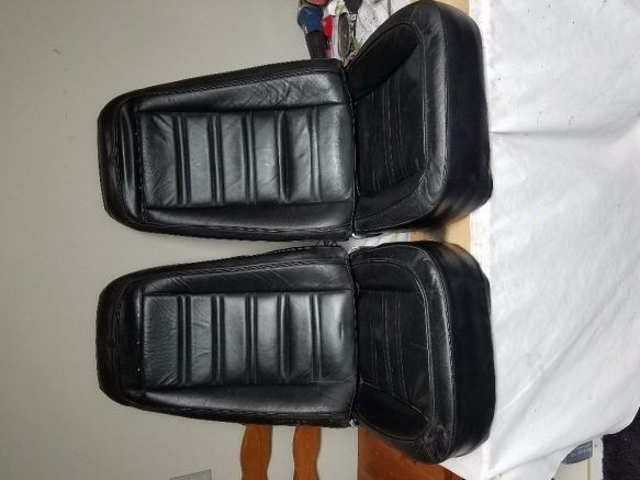 What To Do With Expired Car Seats >> Original 1975 corvette seats for sale | Corvette Parts For