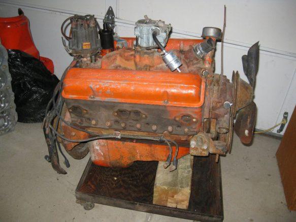 1957 Chevy 283 Complete Engine For Sale Corvette Parts