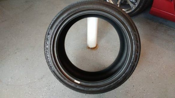 Lightly Used Corvette C6 Rims And Tires For Sale