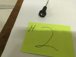 72-76 headlight knob n rod assembly