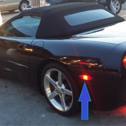 c5 C6 corvette marker led